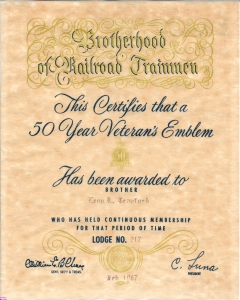1967-Crawford-Leon-Railroad-Retirement-50yrs-Veterans