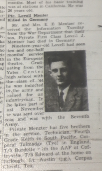 1945-May3-YatesCenterNews-Death-LovellMentzer350