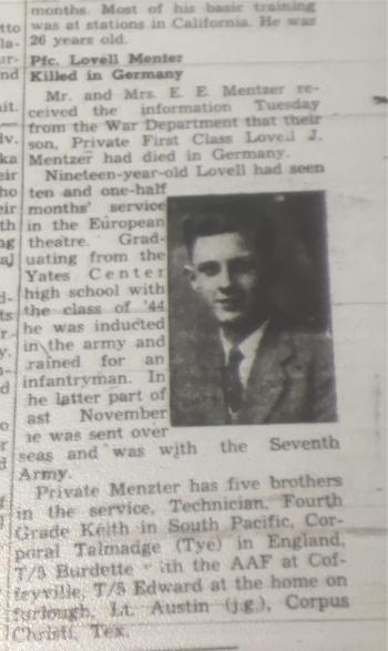 1945-May3-YatesCenterNews-Death-LovellMentzer350
