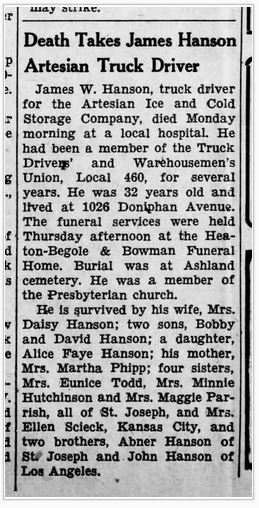 1943-Obit-Hanson-James-The_St__Joseph_Union_Observer_13_Aug_1943