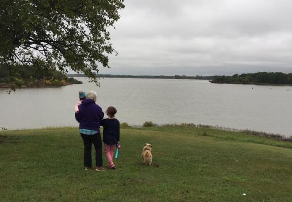 Lake silhouettecrop